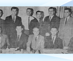 Officers elected in 1965