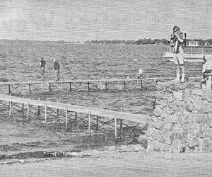 Nice day at the Seawall in 1965