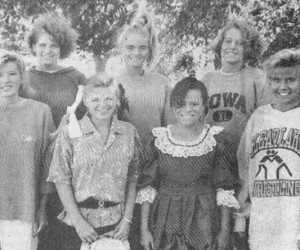 1990 CLHS queen candidates