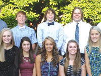 GHV Homecoming court