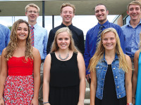 Clear Lake Homecoming Court