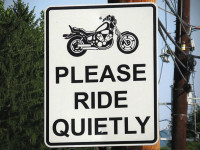 Ssshh!  City signs on to encourage quiet travel