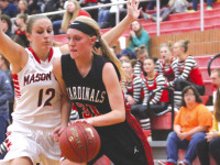 GHV falls hard to Mason City in  Hall of Pride Scrimmage
