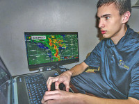 Luker fuels weather forecasting  fire by attending  national conference