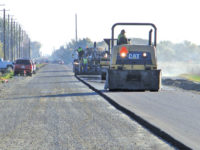 Mother Nature finally allows paving to begin on MC-CL link