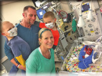 Support is huge for little Knox