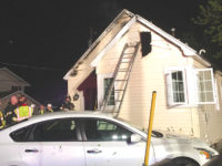 Severe weather blamed for house fire, hail damage