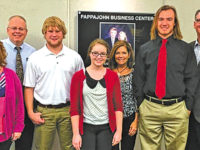 Lake students are regional winners in Pappajohn competition; Hauser to State
