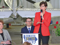 New Iowa leadership makes stop in area