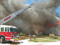 Fire quickly destroys Clear Lake twin home