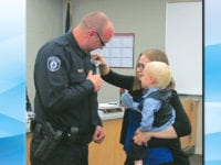 Bossard sworn in as newest CLPD officer