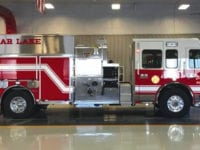 New fire truck arrives in Clear Lake