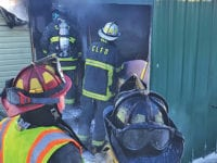Combustibles on stove blamed for fire that destroyed mobile home