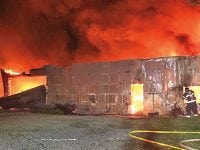 Damage estimated to top $200,000 at Monday barn fire