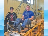 EAA chapter teams with school to build an aircraft