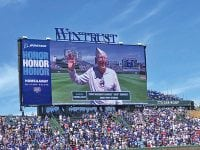 Local veteran Jack Kennedy honored at Wrigley Field