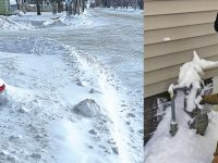 Don't forget to clear hydrants, meters