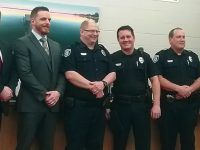 Commendations awarded to police officers
