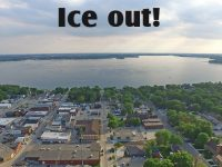 Ice out!