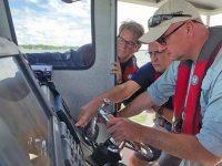 Search and rescue on Clear Lake goes high tech