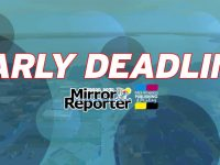 Early deadlines in effect for next M-R