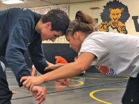 Competing in a boys world Colbert is ready to take the mat at Girls State wrestling tournament