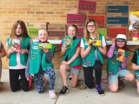 "Local Girl Scouts deliver ""cookie comfort"""