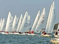 Welcome sailors! MC Scow Nationals in Clear Lake this week